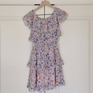 Layered Floral Dress - NWOT